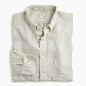 New J Crew Overdyed Plaid Shirt Button Down